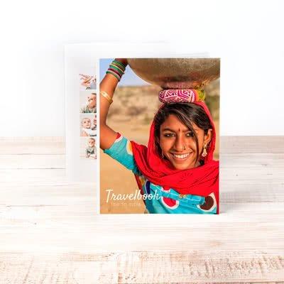 Fotobok stor porträtt med mjukt omslag